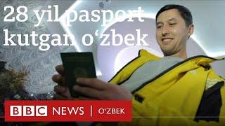 Ўзбекистон паспортини 28 йил кутган 30 яшар ўзбек чемпиони - BBC News O'zbek yangiliklar