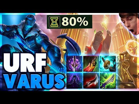 BEST URF SNIPER (MONITOR GIVEAWAY) | URF VARUS FULL GAMEPLAY - BunnyFuFuu