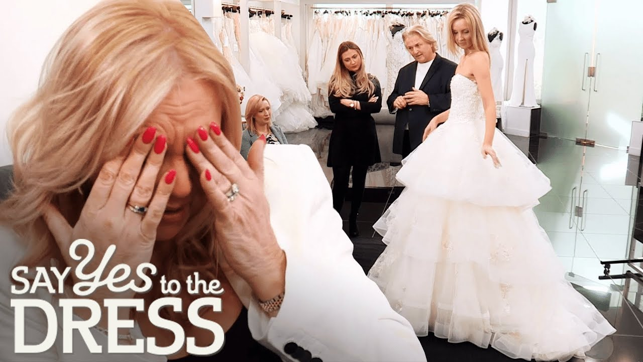 Bride and Mother Have a Clash of Opinion! | Say Yes To The Dress UK ...