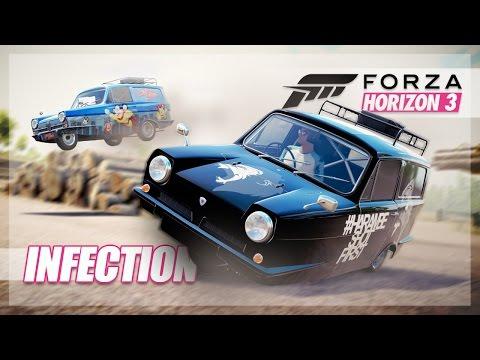 Forza Horizon 3 - Reliant Infection, Training Wheels, Harambe, and More!