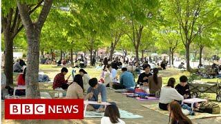 Coronavirus: How South Korea 'crushed' the curve - BBC News