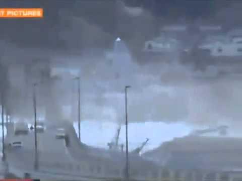 Todays tsunami in