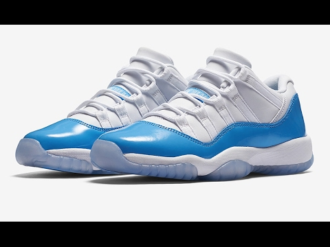 7a6d3322e8a2 The Air Jordan 11 Low Columbia Returns In 2017 - YouTube