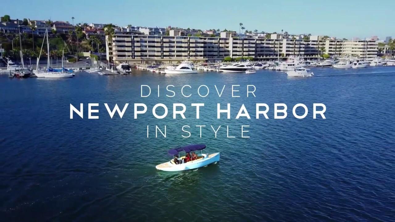 Electric Boat Rental Newport Beach