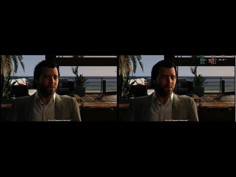 GTA5 3D SBS, Grand Theft Aauto V 3D SBS, TriDef 3D 7.0
