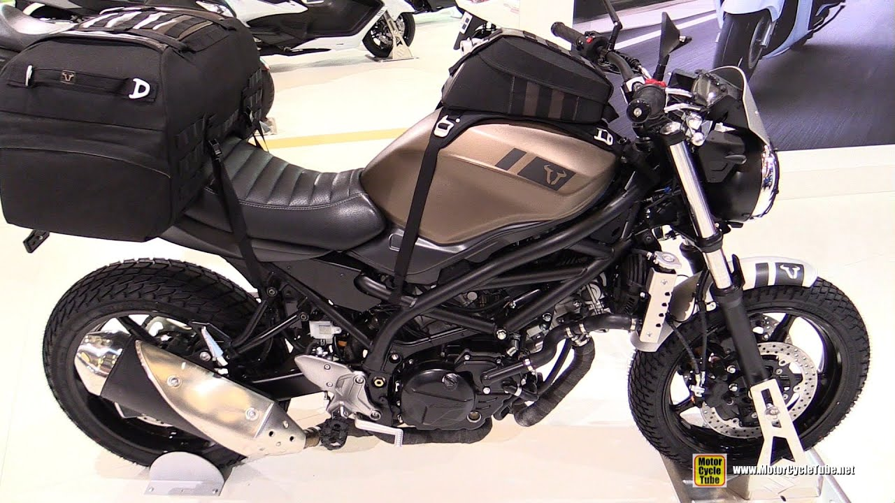 2016 Suzuki SV650 Customized By SW Motech