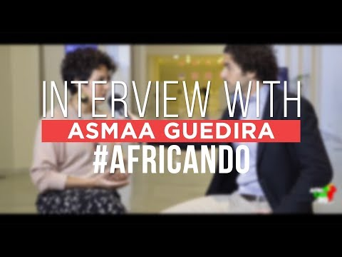"""""""The glass ceiling exists everywhere"""" - Asmaa Guedira's #AfriCanDo interview"""