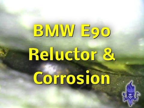 Bmw E90 Dsc Abs Traction Fault Caused By Damaged Wheel