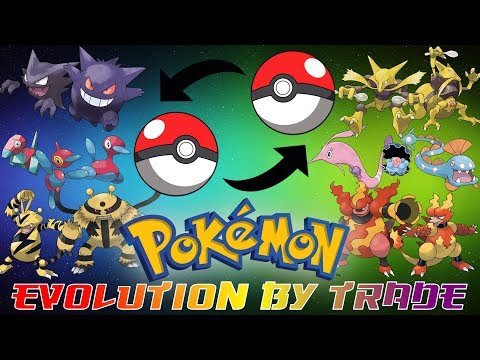 Pokemon That Evolve By Trading