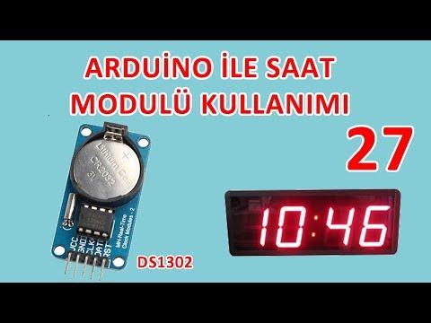 Arduino İle Saat Modulü Kullanımı - DS1302 Saat Modulü - Robotik Kodlama Eğitimi #27