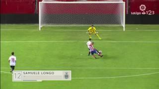 Resumen de Sevilla Atlético Club vs Girona FC (3-3)