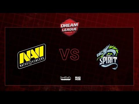 Natus Vincere Vs Team Spirit, DreamLeague S13 QL, Bo3, Game 2 [CrystalMay & Smile]