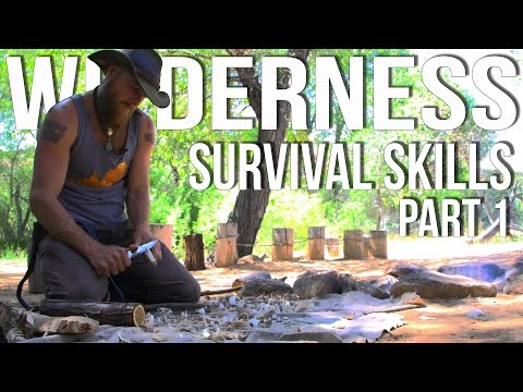 Wilderness Survival Skills Pt 1/4: Priorities of Survival & Coal Burn Spoon