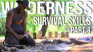 Wilderness Survival Skills Pt 1/4: Priorities of Survival & Coal Burn Spoon