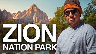 Exploring ZION NATIONAL PARK | TRAVEL Photography | UTAH ROAD TRIP