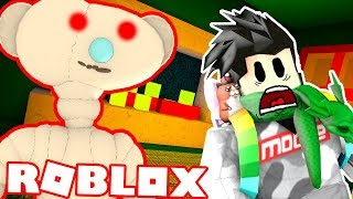 A PHYSCO BEAR IS RUNNING AROUND ROBLOX! (SCARY) RobLOX Ours 'LIVE' Jouer avec FANS!