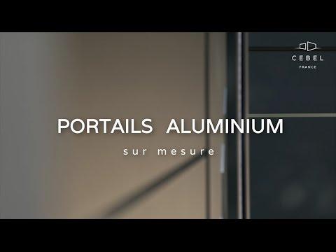 CEBEL - Fabricant de portails aluminium sur mesure - YouTube f321f990fb2a