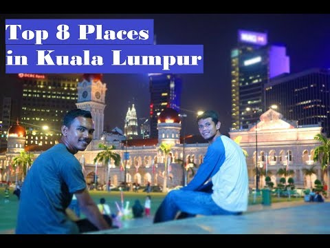Traveling to Malaysia | Exploring top 8 places in Kuala Lumpur | VLOG