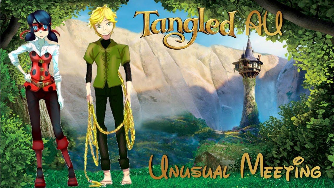[Miraculous Ladybug Comic Dub] Tangled AU! | Unusual Meeting