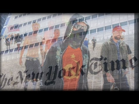 THE NEW YORK TIMES CONNECTION WITH ANTIFA HAS JUST LEAKED, LOOK WHAT JUST LEAKED