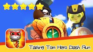 Talking Tom Hero Dash Run Day 104 Walkthrough Golden Tomb Part 2 Recommend index five stars