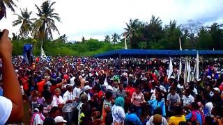 Kampanye Akbar Paket Titen (no.1) Herman-Vian Lapangan Misi Lewoleba-Lembata