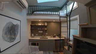 Portland's Luxury Tiny Home Hotel Is Now Open