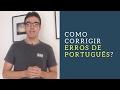 Como corrigir alguém que cometeu um erro de português?