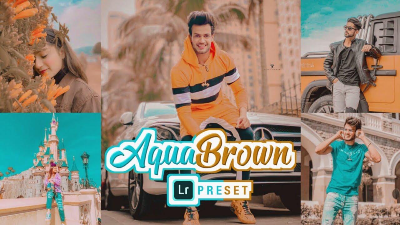 Lightroom Premium Presets | Aqua Brown Preset | Lightroom Presets Free Download | Amulya Rattan