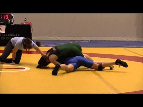 2013 Wesmen Duals: 59 kg Cholena Horne vs. Kira White