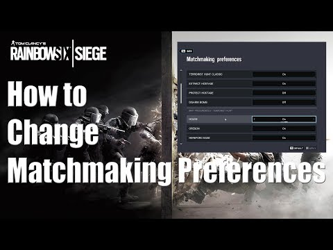 r6s matchmaking maps