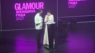 Федор Бондарчук получает награду на премии Женщина Года!