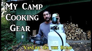 My Van Kitchen Camp Cooking Gear -  VanLife On the Road