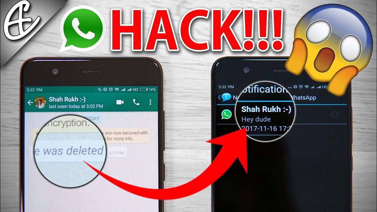 Read WhatsApp Messages Deleted by Sender - New Hack!