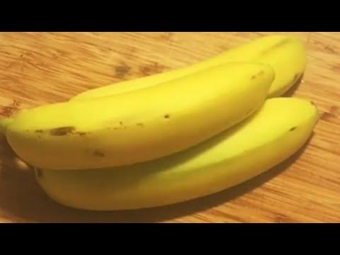 الطريقة الامثل لحفظ وتجميد الموز بالفريزر Best Way To Freeze The Banana للشيف ايمن حسن