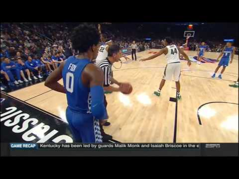 (NCAAM) #2 Kentucky Wildcats at #13 Michigan State Spartans in 20 Minutes - 11/15/16