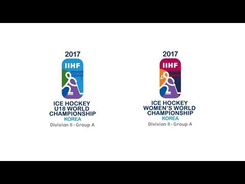 2017 IIHF ICE HOCKEY U-18 WORLD CHAMPIONSHIP LIVE / GANGNEUNG HOCKEY CENTER