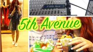 Vlog in New York #7: 5th Avenue & Dégustation à Dunkin Donuts !