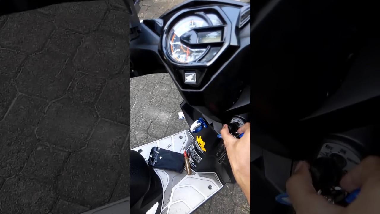 Modifikasi Lampu Motor Honda Beat