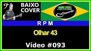 RPM - Olhar 43 (no BAIXO  com Tablatura) bass cover tab