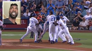 Andrew McCutchen breaks down the Giants-Dodgers melee