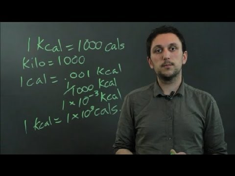 How to Convert Kcal to Cals : Triangles & Conversions in Math