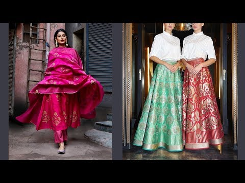 Indian Traditional Wear Party Dress Designs 2019