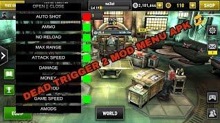 Dead trigger 2 mod menu apk 1.3.3