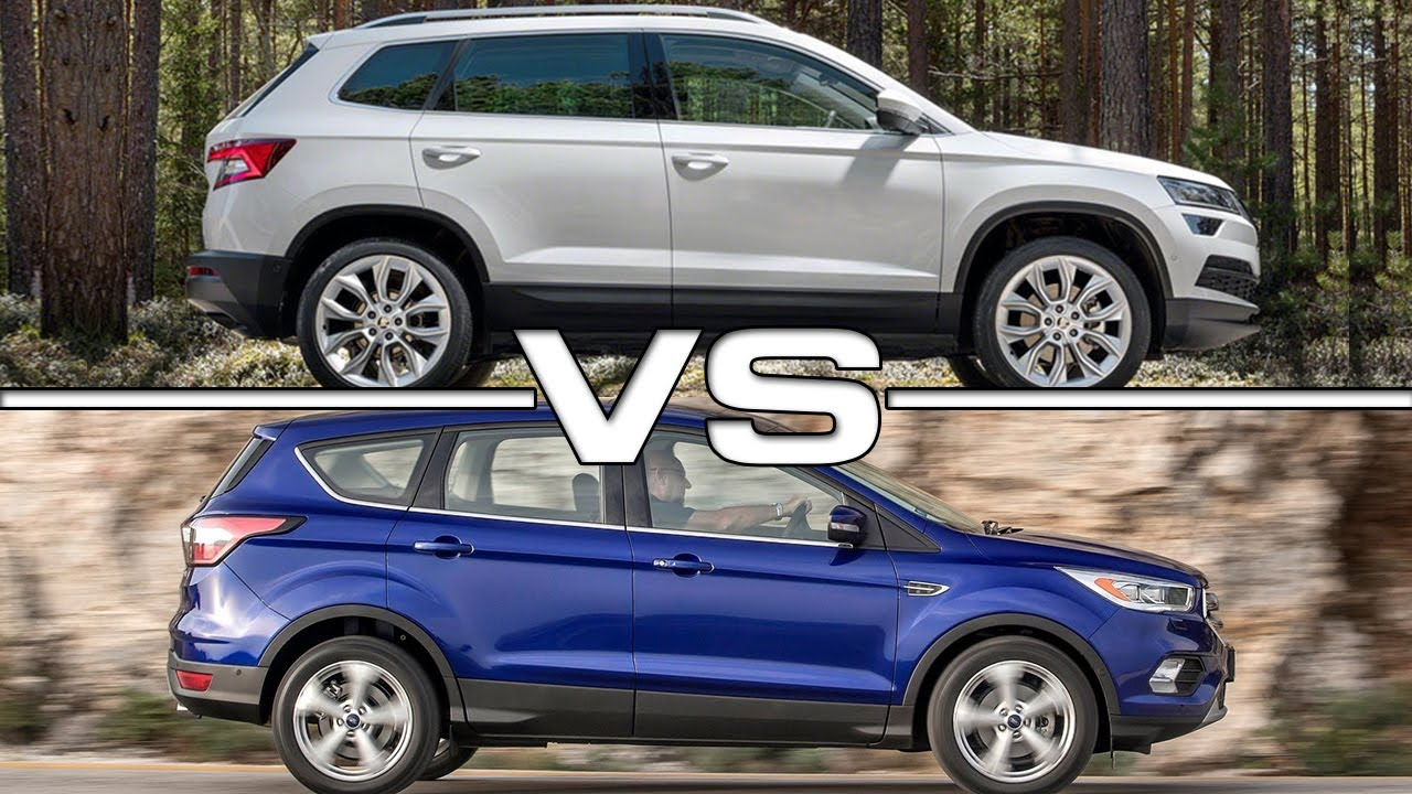 2018 ford suv. simple ford 2018 skoda karoq vs 2017 ford escape suv comparison intended ford suv
