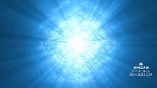 Under Ocean Waves with Sun Light Rays - 4K UHD Version