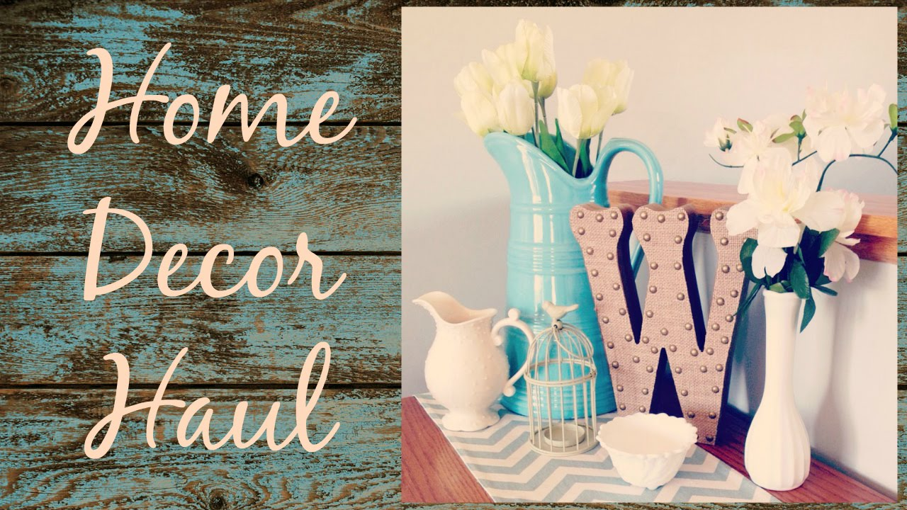Collective Home Decor Haul Goodwill Hobby Lobby Kohl S Walmart And Zulily