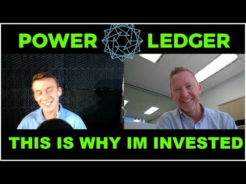 Power Ledger Renewable Energy  | Interviewing Co Founder & Managing Director 2018