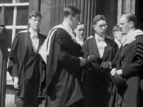 Cambridge University - 1945 British Council Film Collection - CharlieDeanArchives / Archival Footage
