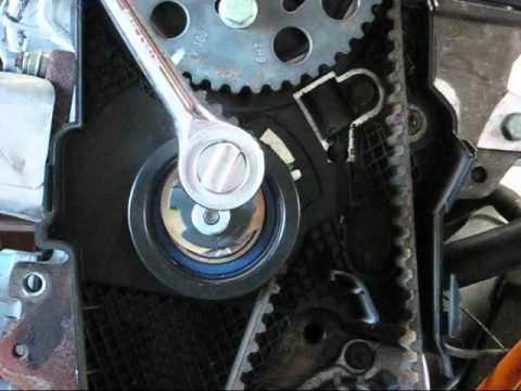 VW TDI engine timing belt tensioner  BHW Passat TDI and BRM Jetta TDI  YouTube